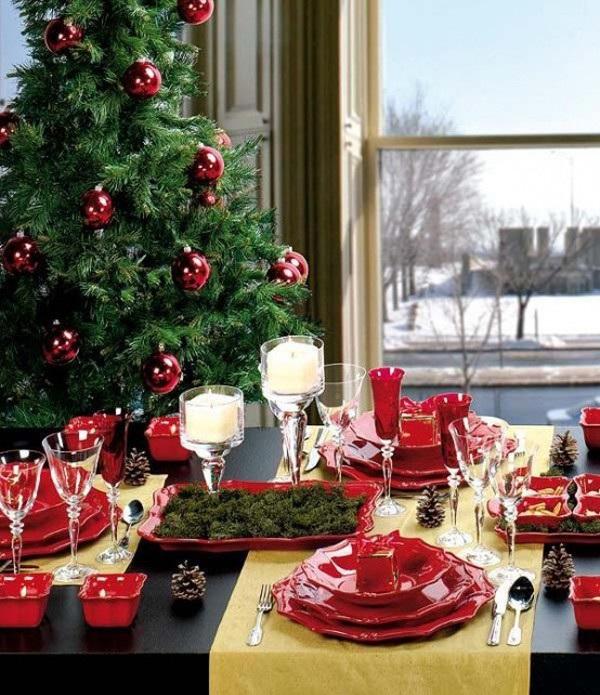 30+ gợi ý trang trí bàn ăn nhà hàng – khách sạn dịp Giáng sinh
