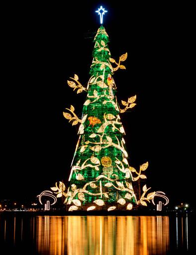 mẫu trang trí cây thông noel đẹp mắt và ấn tượng