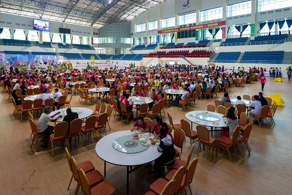 Tổ chức thành công đại tiệc Buffet cho 10.000 khách và những kinh nghiệm quý từ khách sạn The Reed Ninh Bình