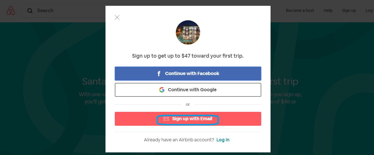 quy trình đăng bán phòng trên airbnb