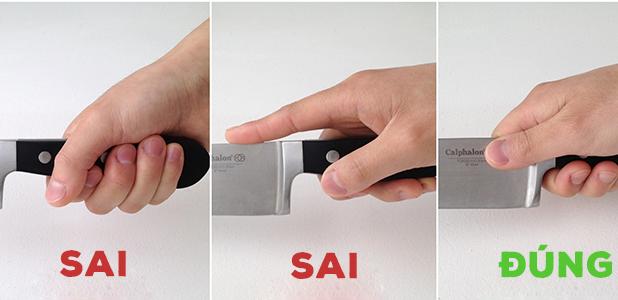 5 cách dùng dao cơ bản không phải đầu bếp nào cũng thành thạo