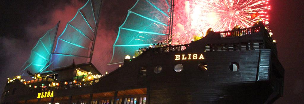 new year fireworks ho chi minh city