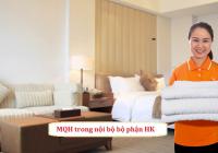 Bật mí mối quan hệ trong nội bộ bộ phận buồng phòng khách sạn
