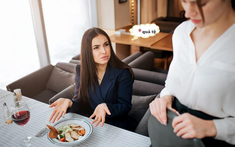 """10+ pha đáp trả cực cứng khi nhà hàng gặp phải """"thượng đế tồi"""""""